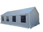 4m x 8m PVC Industrial Grade Marquee Party Tent Inc Ground Frame